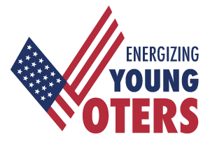 energizing young voters logo